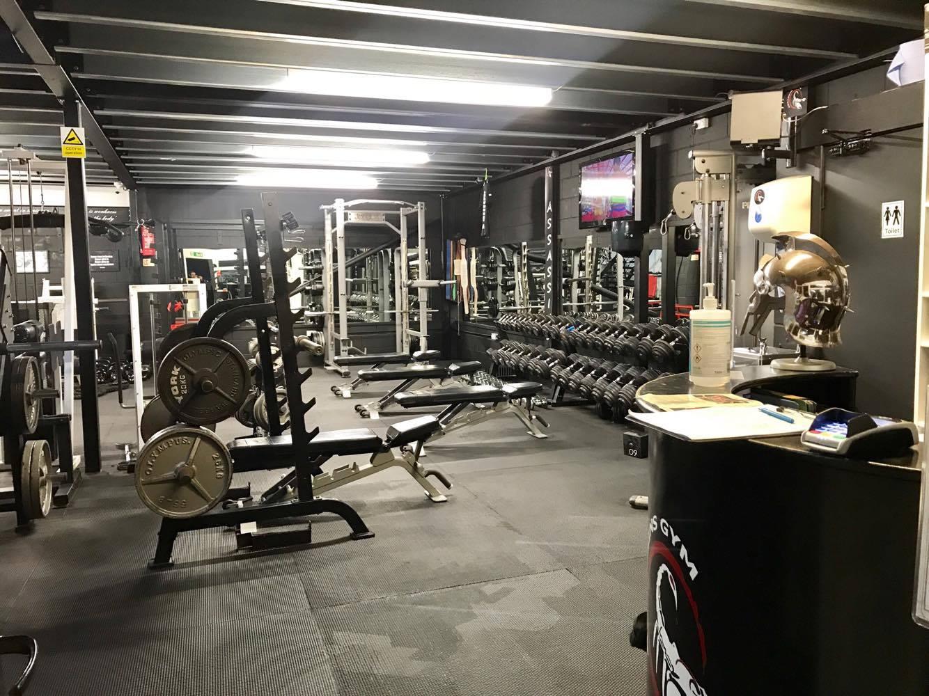 assassins gym crowborough